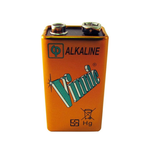 Vinnic Alkaline 9V Battery